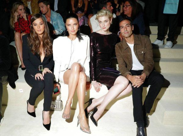 Hailee Steinfeld Adriana Lima And Elizabeth Debicki At Tom Ford Nyfw 2018 Mosnar Communications Celebrity Style Men Mens Spring Fashion Fashion