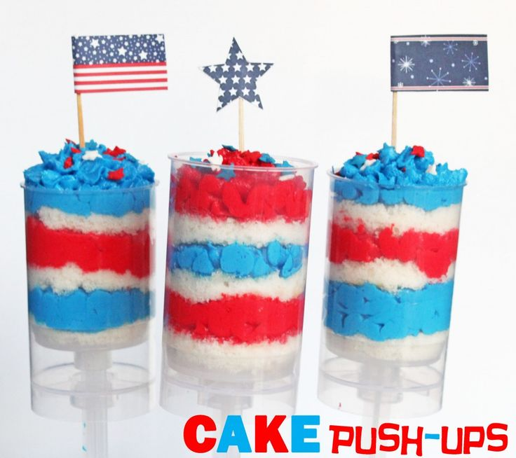 4th of july carrot cake