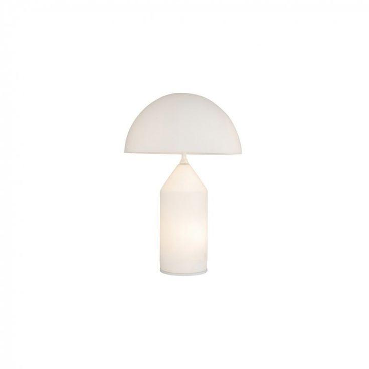 Atollo 236 35 cm Opal Bordslampa | Oluce | Länna Möbler | Handla online