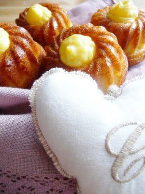 Ciambelline morbidissime con cuore di crema pasticcera