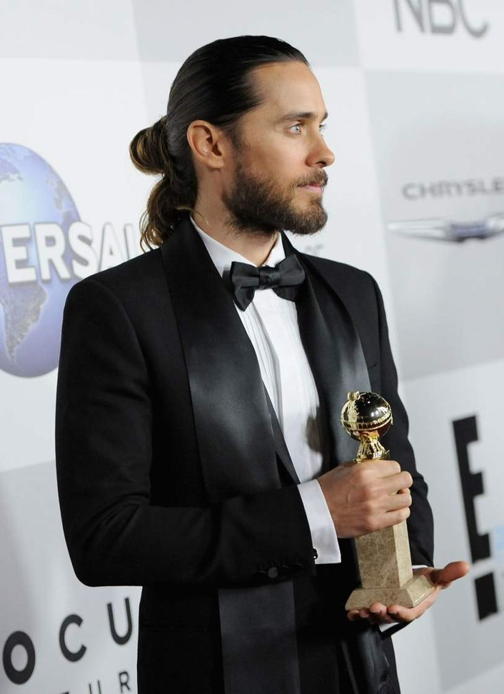 Take Jared Leto's Lead and Chop Off That Man Bun—You Look Ridiculous Jared Leto #JaredLeto
