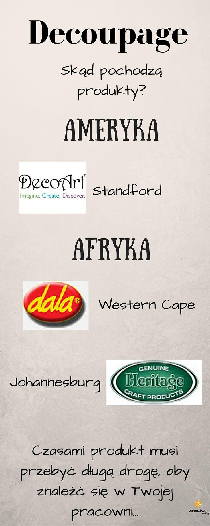 Zobacz z jakich krajów pochodzą Twoje ulubione produkty do rękodzieła. Znajdziesz je na naszej stronie: http://www.creativehobby.pl/