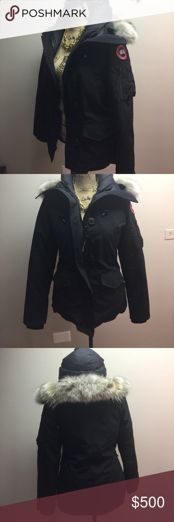 Canada Goose coat Canada Goose MONTEBELLO DOWN PARKA coat with genuine fur trim. Canada Goose Jackets Coats #Down&Parkas
