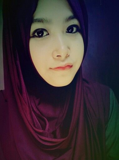 Every woman is beautiful #natural #beauty #hijab #purple #violet #colors