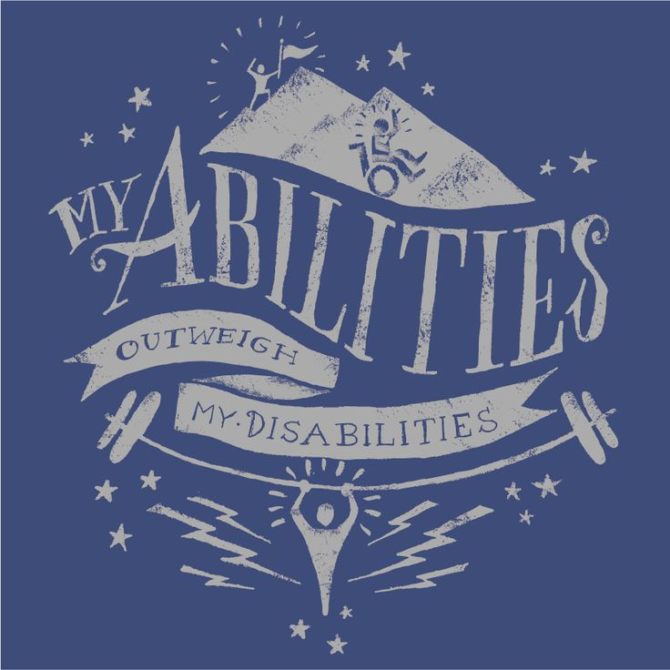 """My Abilities Outweigh My Disabilities"" // artwork design by John (Viet-Triet) Hoa Hguyen"
