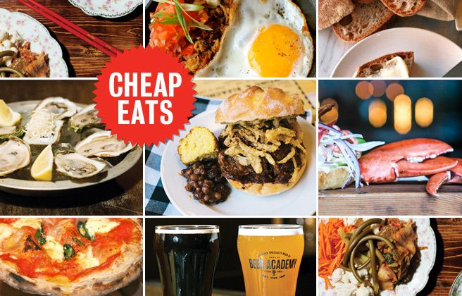 The best Toronto cheap eats in town right now. 11 restaurants where you can eat well for less.