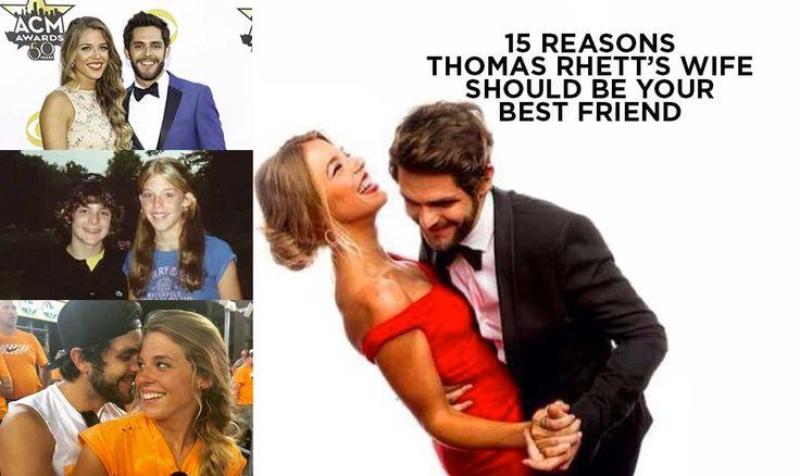 15 reasons thomas rhett�s wife should be your best friend