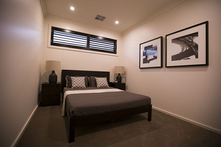 This second bedroom has a luxurious feel, with ample space and light. #bedroom #weeksbuilding