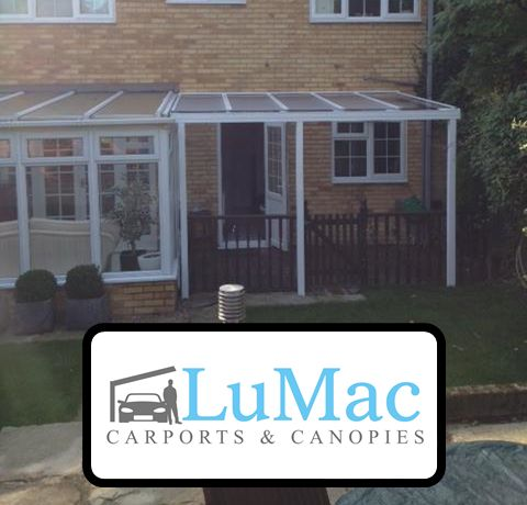 Nice looking canopy which fits perfectly in with the existing conservatory. & 10 best Lean-To LuMac Canopy images on Pinterest | Canopy For the ...