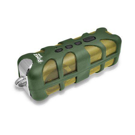 Sound Box Splash Rugged and Splash-Proof BT Marine Grade Portable Cordless Speaker in Green