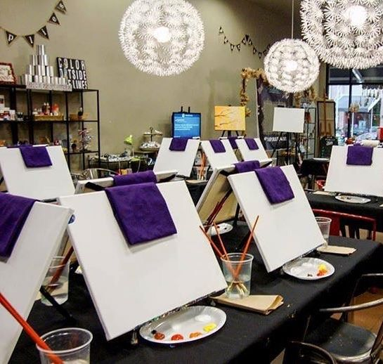Last chance to sign up and join us for our Vino and Canvas paint night tonight if you would like to PAINT  shop. Head to http://vinoandcanvas.com/pinspiration and enter the code PINSPIRATION. The class is just $25.00 and as an added bonus you can shop with TO THE MARKET during their pop-up shop!  If you are joining us for shopping or crafting we will just see you here at Pinspiration later tonight!  @vinoandcanvas @letsgottm #letsgottm #tothemarket #survivormadegoods #socialgood…