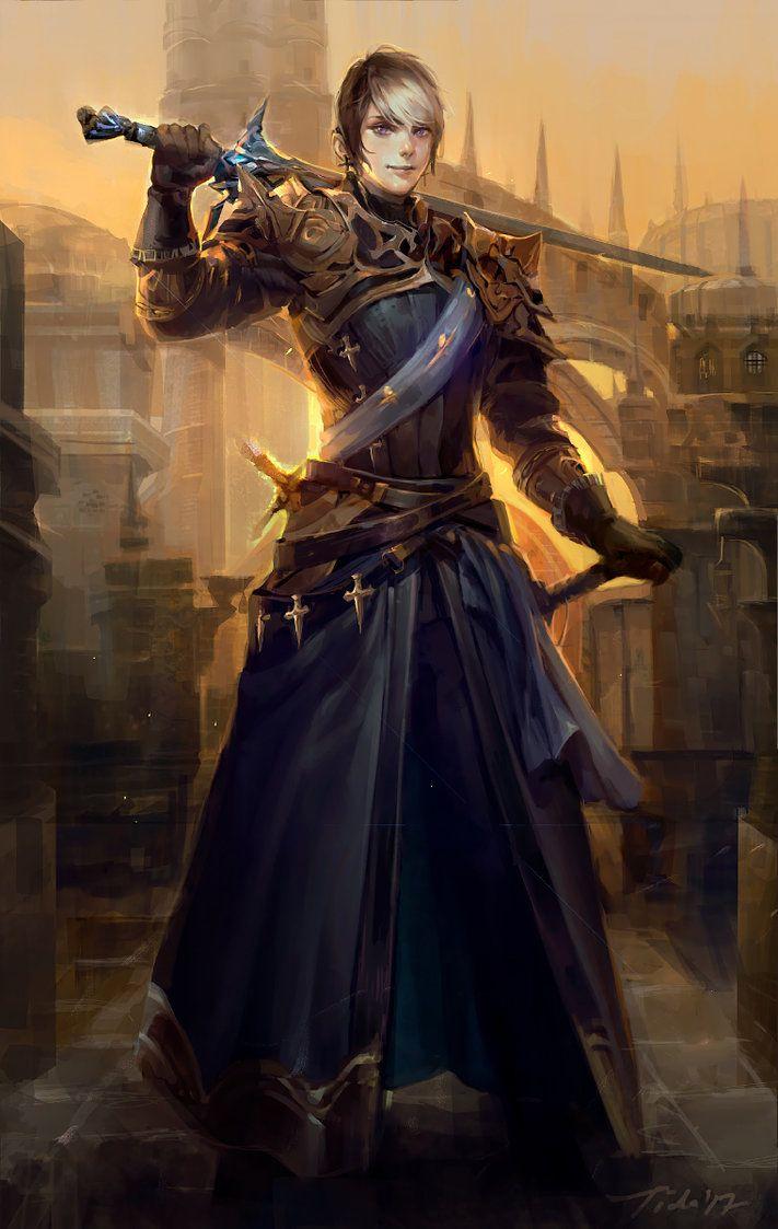 """Albain de Montaigue"" by Pearlpencil - Deviantart final fantasy XIV character"