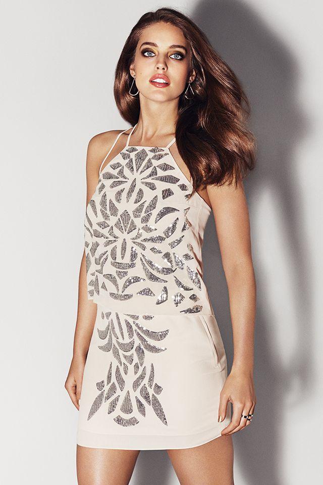 Silver sequins. H&M. #PARTYINHM