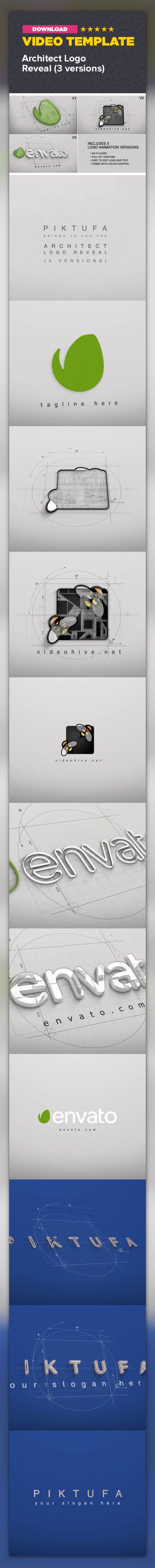 30 best video logo images on pinterest composition channel and 3d logo architecture blueprint bright building clean construction corporate malvernweather Gallery