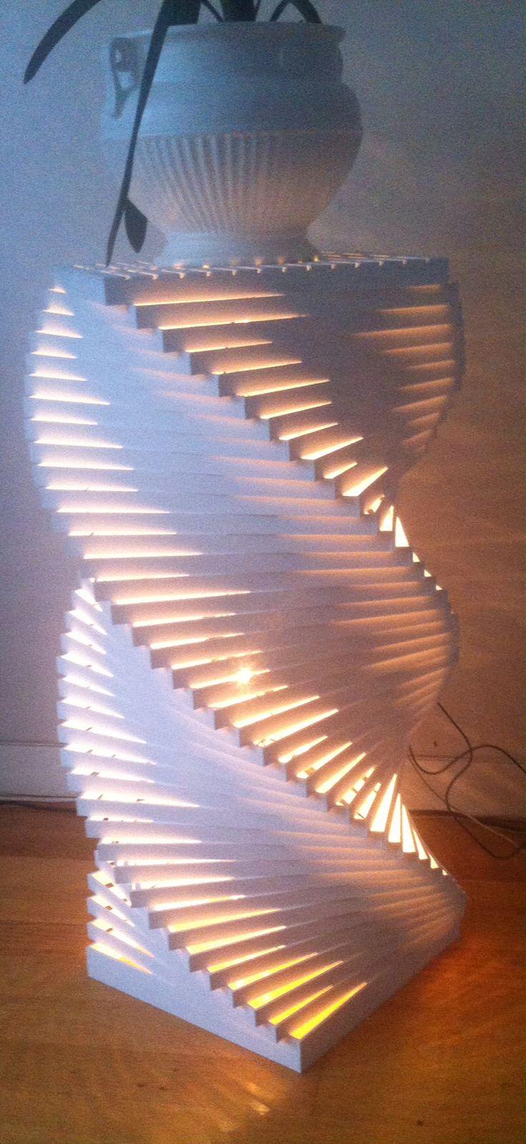 Woodstick lamp