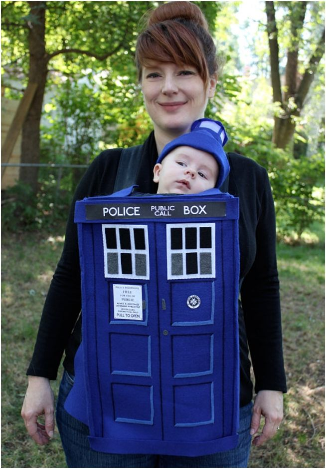 Adipose baby costume