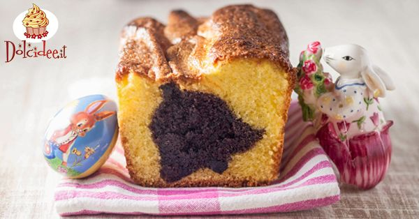 Torta di Pasqua con campana di cacao