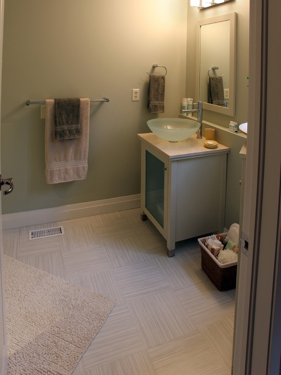 23 best images about basement bathroom flooring ideas on for Basement bathroom flooring ideas