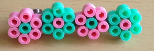 Hama beads hair pin - Pinza para pelo usando Hama beads