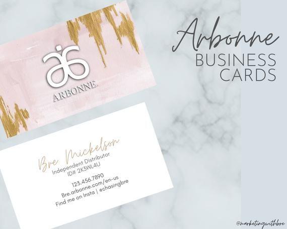 Arbonne Business Cards Pdf Only In 2020 Arbonne Business Cards Printing Business Cards Herbalife Business Cards Design