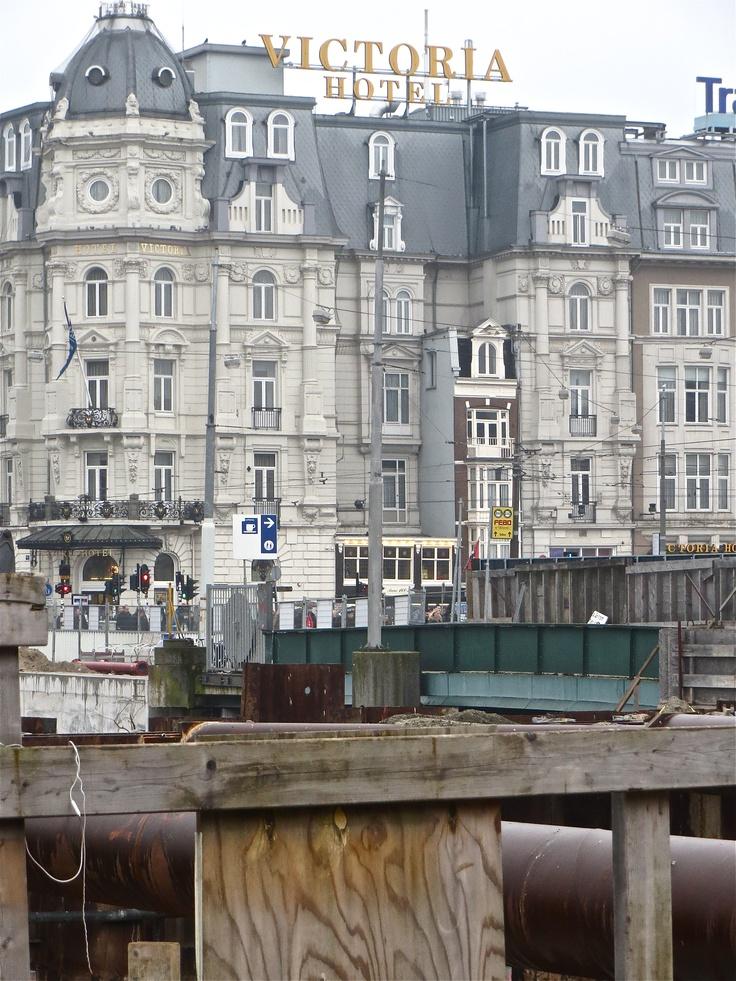 Amsterdam Victoria Hotel near Central Station