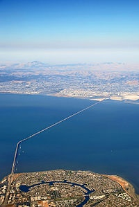 San Mateo Bridge - Where I lived in California