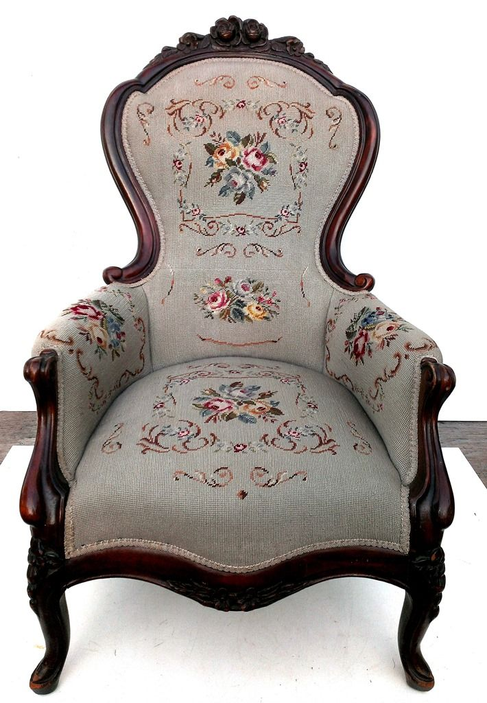 Buy online, view images and see past prices for Victorian Walnut Arm Chair. - 552 Best Antique Furniture Images On Pinterest