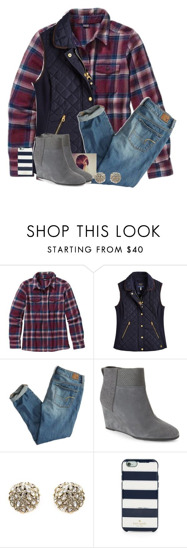 """I can't believe that one day in my life I trusted u "" by fashionpassion2002 ❤ liked on Polyvore featuring Patagonia, Joules, American Eagle Outfitters, Elie Tahari, Alexis Bittar and Kate Spade"