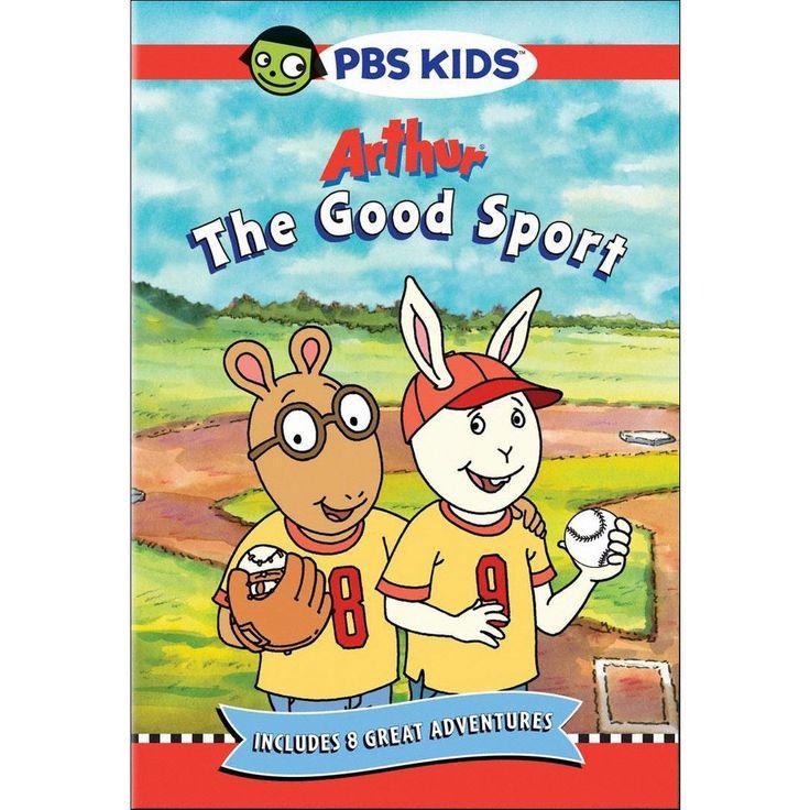 Arthur the good sport dvd in 2021 fun sports arthur