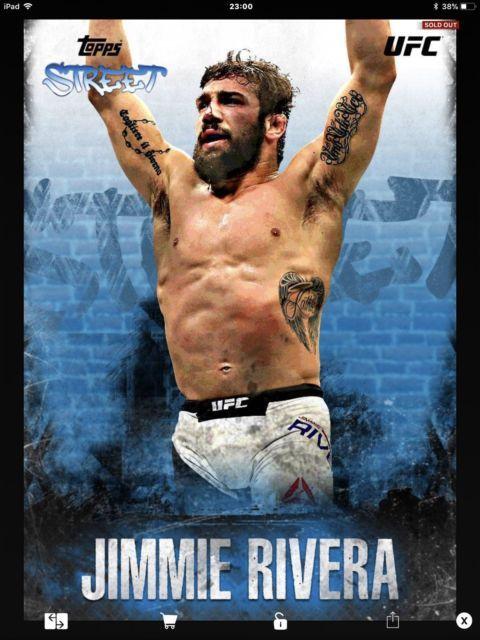 Topps UFC knockout Digital, Jimmie Rivera Topps Street | eBay