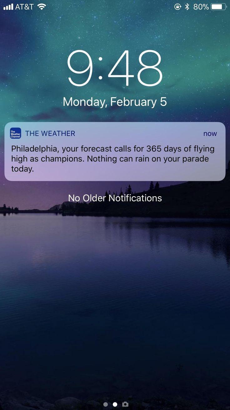 Long Range Philly Wettervorhersage