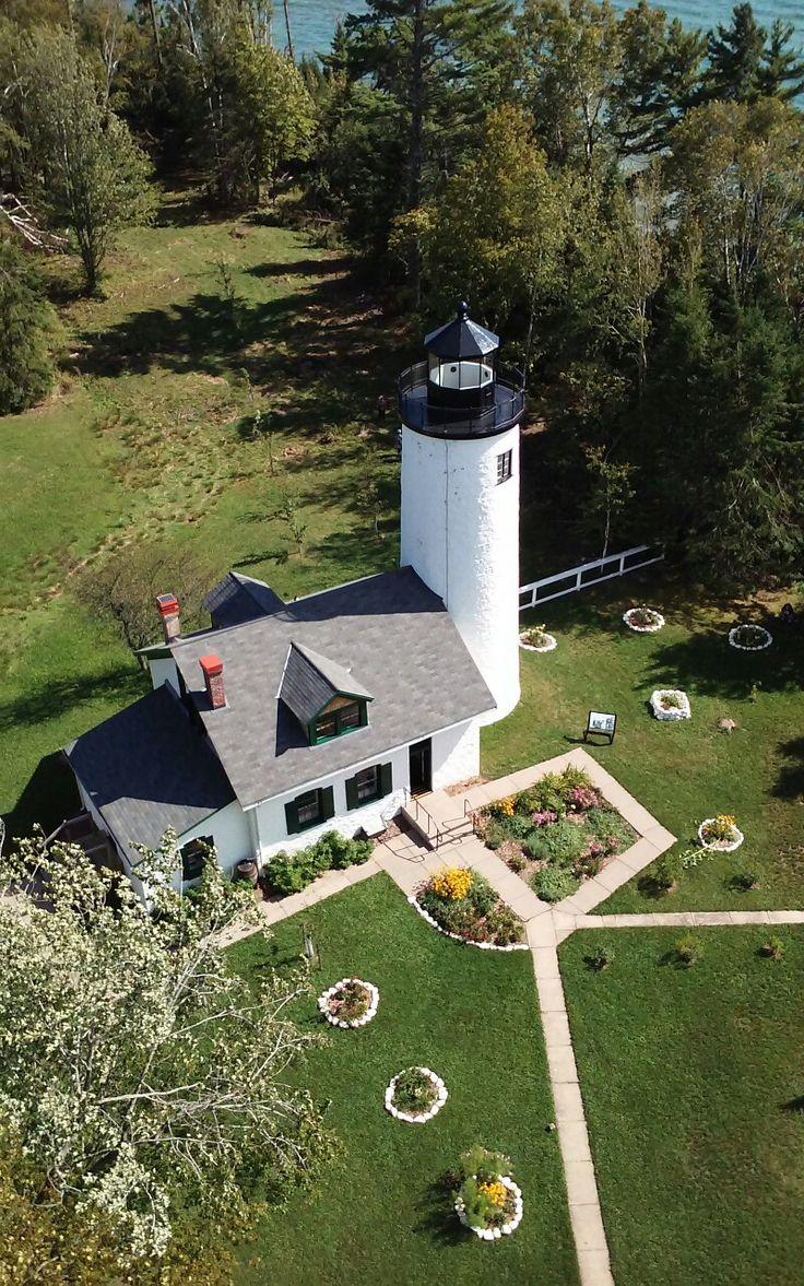 """Old"" Michigan Island #Lighthouse - Apostle Islands, #WI - http://dennisharper.lnf.com/"