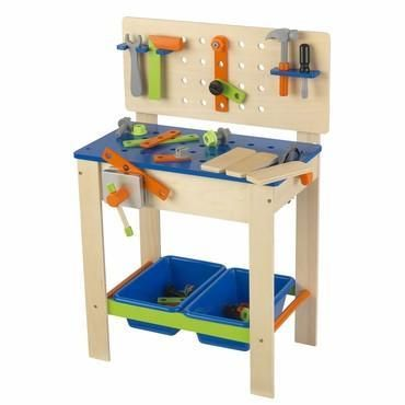 Kidkraft 63329 Deluxe Workbench With Tools