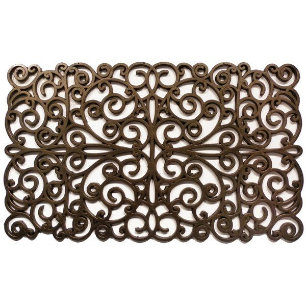 Momentum Mats Prestige Natural Rubber Gold Finish Door Mat (44 AUD) ❤ liked on Polyvore featuring home, outdoors, outdoor decor, gold, outside door mats, outdoor rubber door mat, rubber mats and outdoor welcome mats