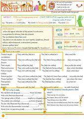 Passive voice (Present Simple) worksheet - Free ESL printable worksheets made by teachers
