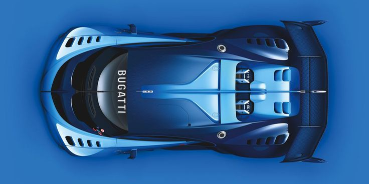 Bugatti Designed a Supercar Just for 'Gran Turismo' | Although you can think of the Bugatti Vision Gran Turismo as a preview for the forthcoming 1,480-hp Chiron. [Futuristic Vehicles: http://futuristicnews.com/category/future-transportation/]