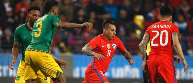 La Roja perdió vs Jamaica 2-1 y se llena de dudas para la Copa. May 28, 2016.