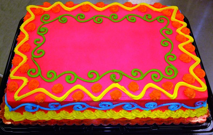 Neon Birthday Cakes For Teenagers | Neon Birthday Cake Images Pictures