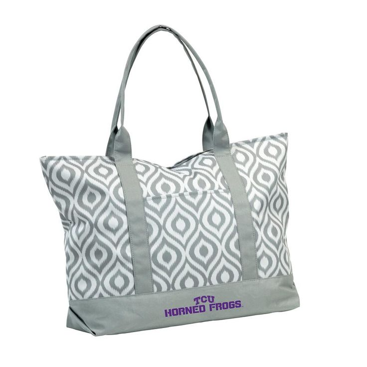 Texas Christian Horned Frogs NCAA Ikat Tote