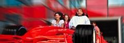 Wow! The world's fastest roller coaster. Roller coaster cars are designed to resemble the Ferrari Formula One car!  I just need to get to Abu Dhabi to ride it.   Watch the video: http://youtu.be/wK_Bx7XAbrk