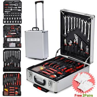Hot Sale 799 PCS Complete Tool Set Mechanics Wrenches Screwdriver Socket with Tr…