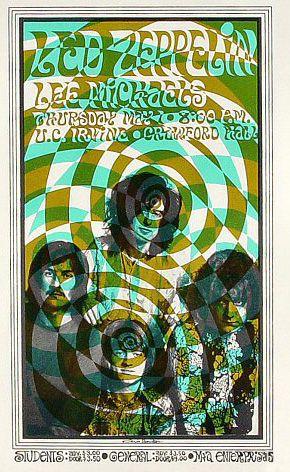 Led Zeppelin concert U. C. Irvine 5/1/69