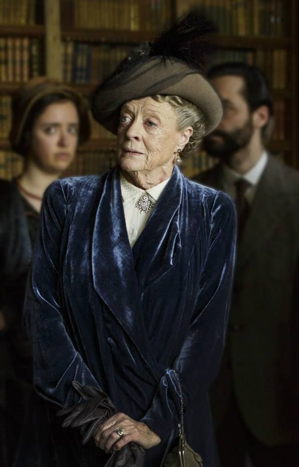 Downton Abbey Season 5: Dame Maggie Smith as Violet Crawley, Dowager Countess of Grantham.