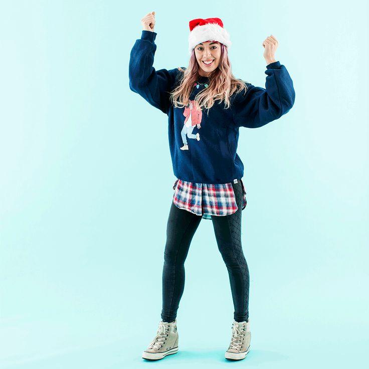 83 best tacky holiday sweaters images on pinterest la la la diy drake holiday sweatshirt solutioingenieria Gallery