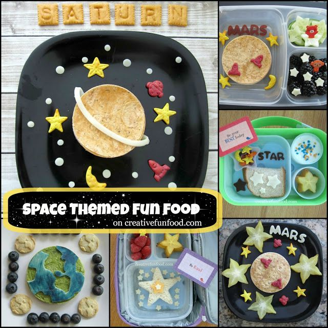 A Round up of Out of This World, Space Themed Fun Food! on creativefunfood.com