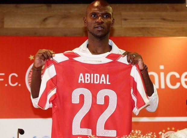 Éric Abidal - Olympiacos F.C.