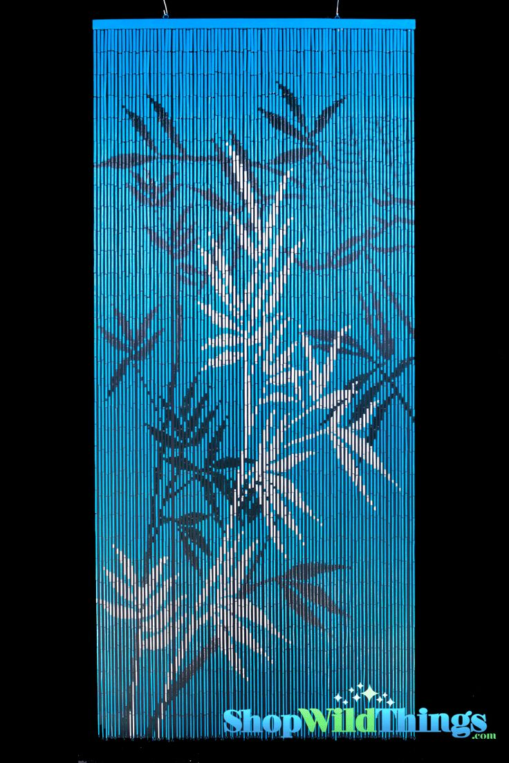 Painted bamboo curtains for doors - Shopwildthings Painted Bamboo Beaded Curtains And Door Beads Have Scenes That Will Look Amazing In Your