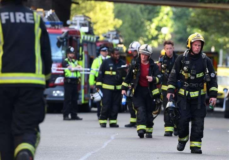 Doden door brand in torenflat Londen