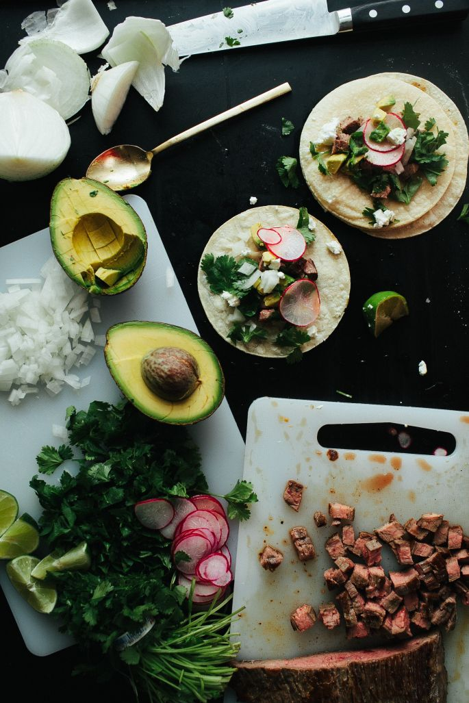 Now these are just gorgeous! Flank Steak Tacos // Not Without Salt
