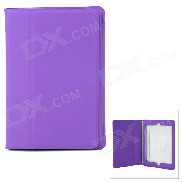 Color: Purple; Quantity: 1 Piece; Material: PU leather; Compatible Models: Ipad MINI 2(Ipad MINI with Retina display); Style: Flip Open; Auto Wake-up / Sleep: Yes; Other Features: Protects your device from scratches dust and shock; Packing List: 1 x Protective case; http://j.mp/1tovDkV